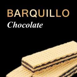 Barquillo de chocolate