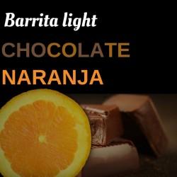 Barritas de chocolate-naranja