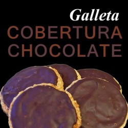 Galletas cobertura chocolate (7UDS)