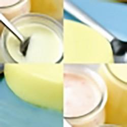 Degustación flanes-yogures