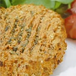 Hamburguesa de soja a la provenzal