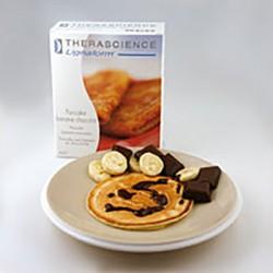 Pancake de plátano-chocolate