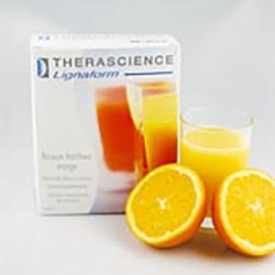 Bebida fría de naranja
